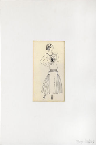 La Vie Parisienne fashion illustration