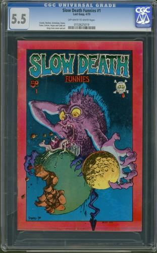 Slow Death Funnies #1