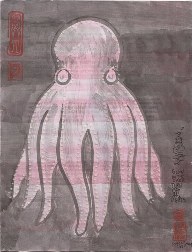 Glow-In-The-Dark Cephalopod