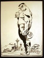 The Hulk In Seattle